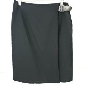 Talbots Wrap Skirt Wool Career